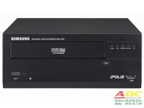 Đầu ghi hình camera IP 4 kênh SAMSUNG SRN-470DP